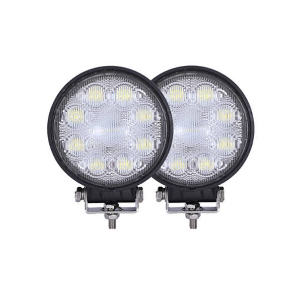 Best selling led working light strobe  e mark led driving light round  - 副本